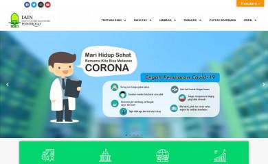 iainponorogo.ac.id screenshot