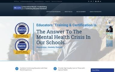 ibcces.org screenshot