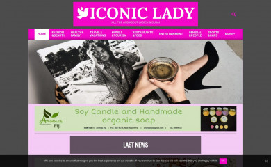iconiclady.com screenshot