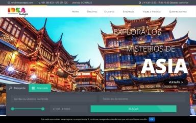 ideaviatges.com screenshot