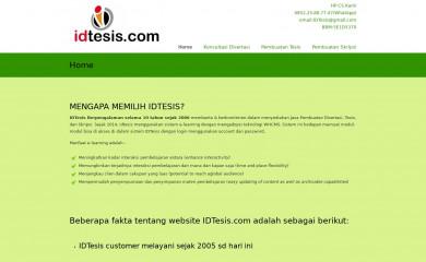 idtesis.com screenshot