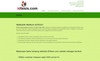 idtesis.com screenshot
