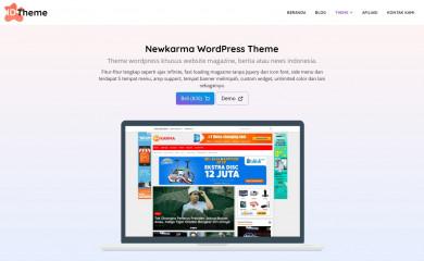 https://www.idtheme.com/newkarma/ screenshot