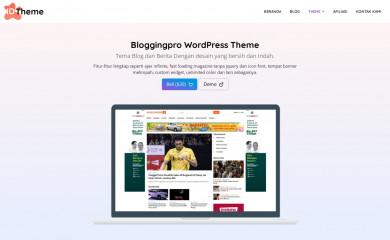 Bloggingpro screenshot