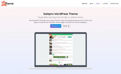 https://www.idtheme.com/galepro/ screenshot