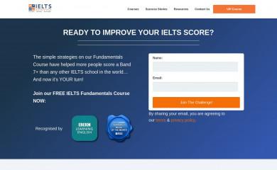 ieltsadvantage.com screenshot