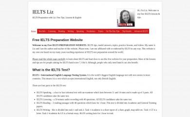 http://ieltsliz.com screenshot