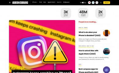 igeeksblog.com screenshot