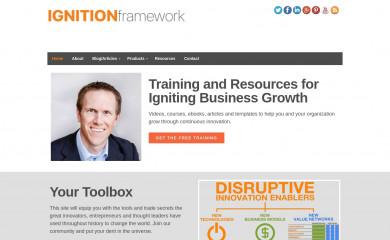 ignitionframework.com screenshot