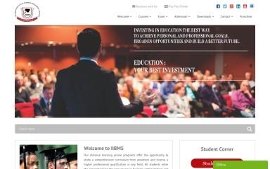 iibms.org screenshot