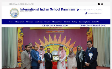 iisdammam.edu.sa screenshot
