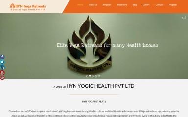 iiynyogichealth.com screenshot