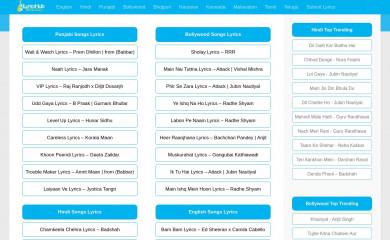 ilyricshub.com screenshot