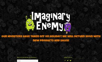 imaginaryenemy.com.au screenshot