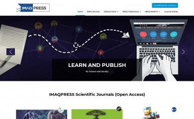 imaqpress.com screenshot