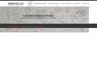 immisol.com screenshot
