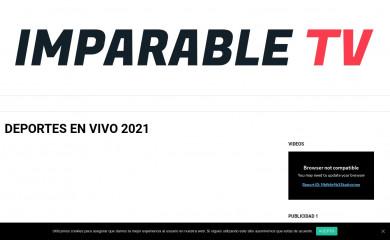 imparable-tv.com screenshot