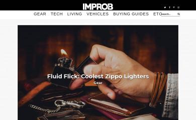http://improb.com screenshot