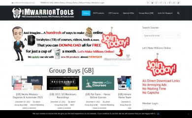 imwarriortools.com screenshot