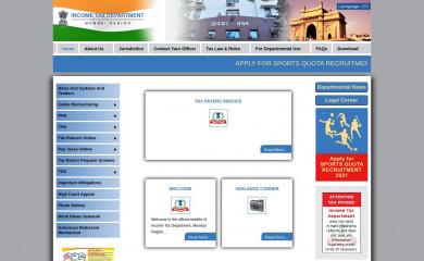 incometaxmumbai.gov.in screenshot