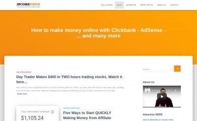 http://incomevoice.com screenshot