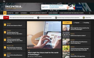 incentria.com screenshot