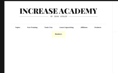 increase.academy screenshot
