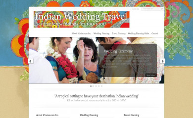 indianweddingtravel.com screenshot