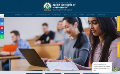 indiraiimp.edu.in screenshot