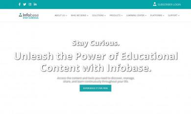 http://infobase.com screenshot