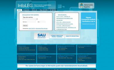 infoleg.gob.ar screenshot