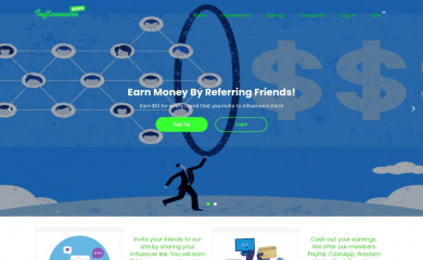 influencersearn.com screenshot