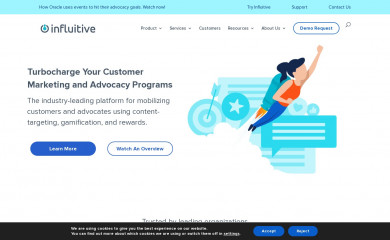 influitive.com screenshot