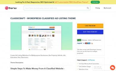 ClassiCraft screenshot