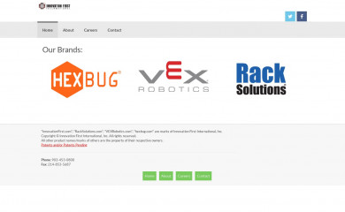 innovationfirst.com screenshot