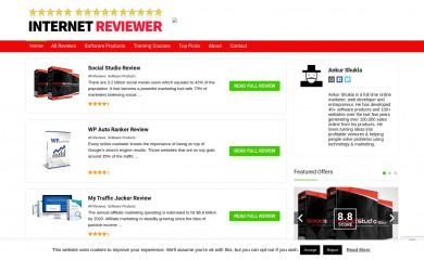 http://internetreviewer.net screenshot