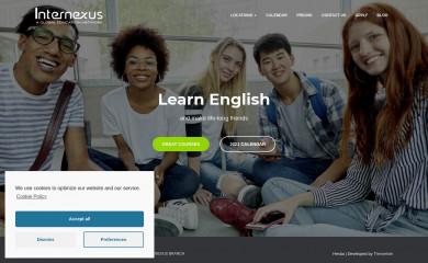 internexus.edu screenshot