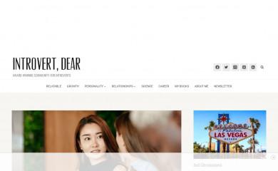 introvertdear.com screenshot