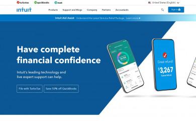 http://intuit.com screenshot