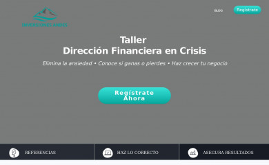 inversionesandes.com screenshot