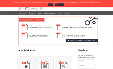 http://iot-analytics.com screenshot