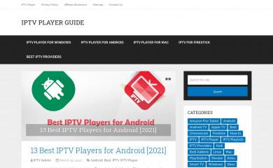 iptvplayerguide.com screenshot