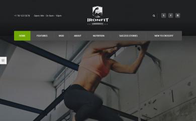 Ironfit screenshot