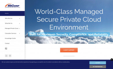 iscorp.com screenshot