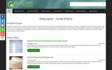http://isadanalquran.com screenshot