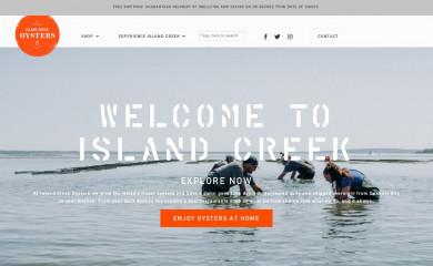 islandcreekoysters.com screenshot