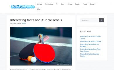 http://justfunfacts.com screenshot
