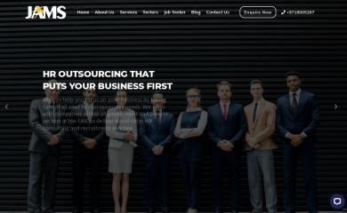 jamshrsolutions.com screenshot