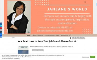 janeanesworld.com screenshot