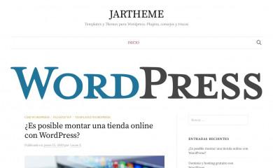 The7 | JARtheme.com screenshot
